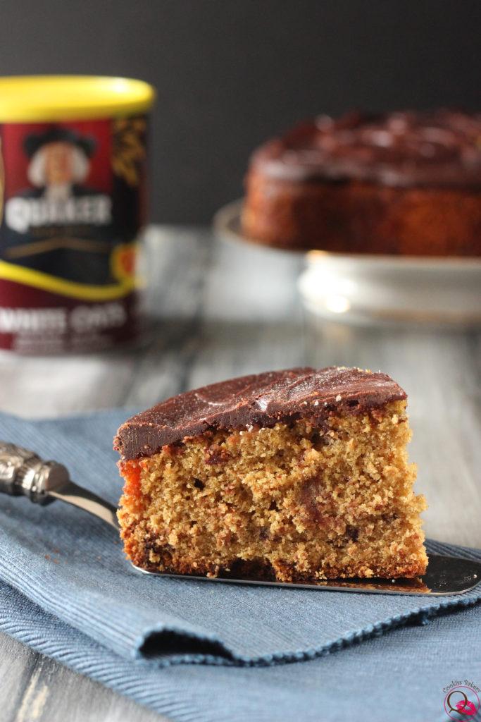 Ricetta torta soffice senza glutine con anacardi e fiocchi d'avena