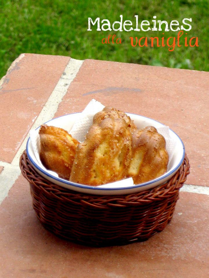 Ricetta madeleines francesi allo zenzero e miele