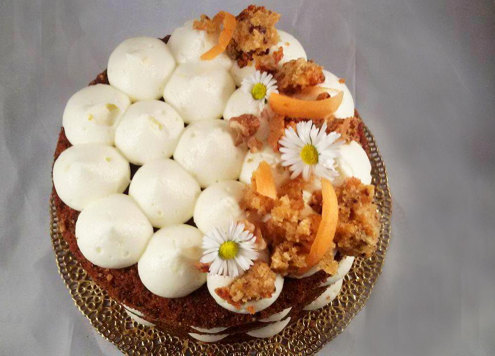 Carrot cake - Torta di carote - La ricetta originale