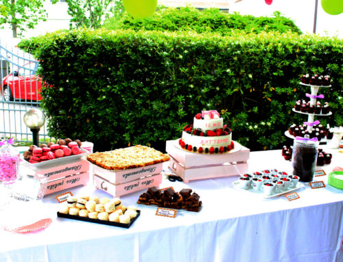 Il Battesimo di Elena, il buffet dolce