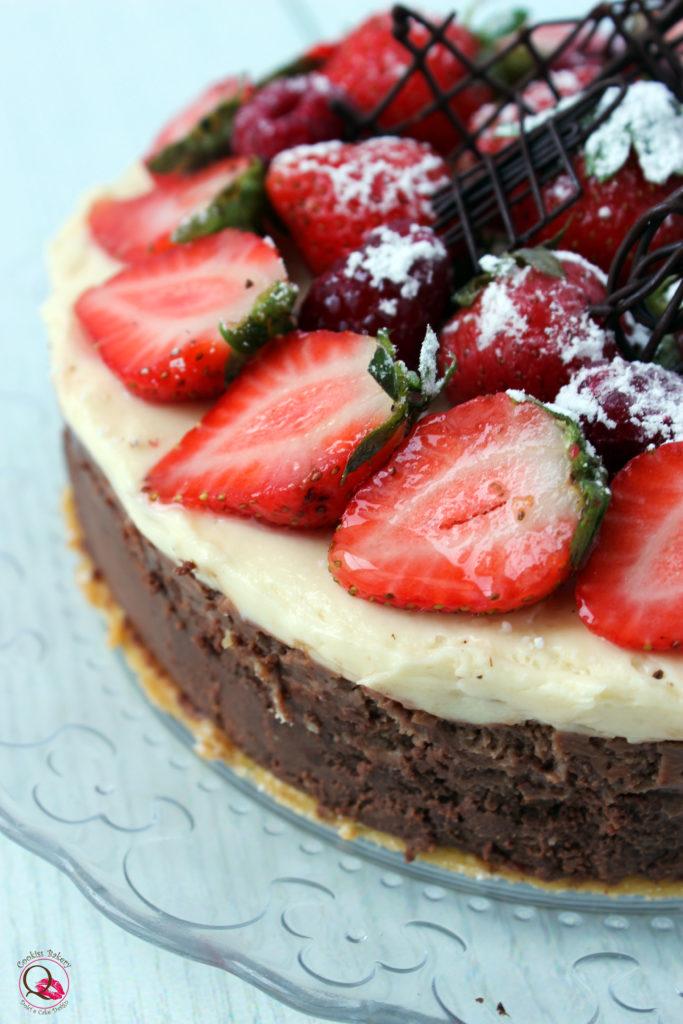 torta mousse al doppio cioccolato