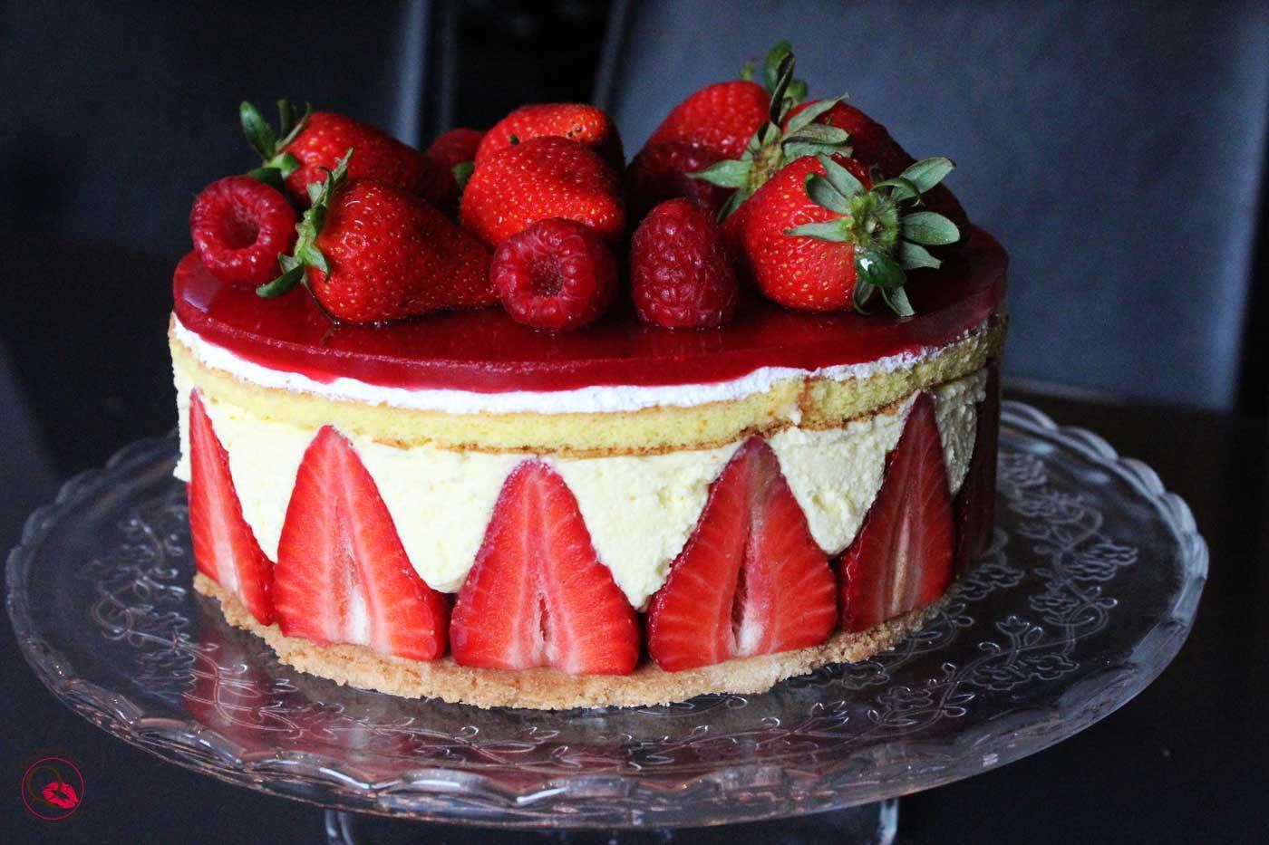 torrta fraisier intera