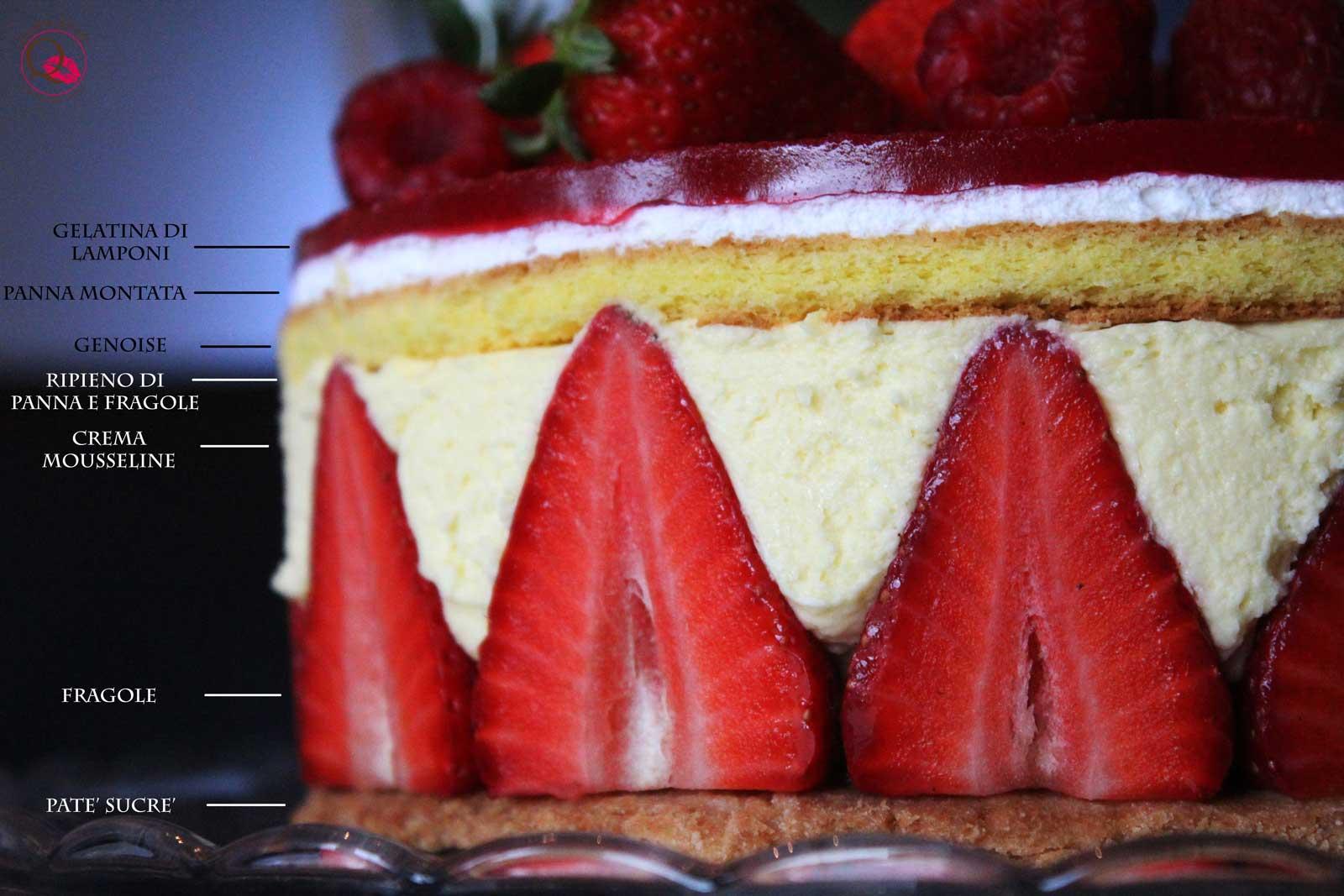 torrta fraisier legenda