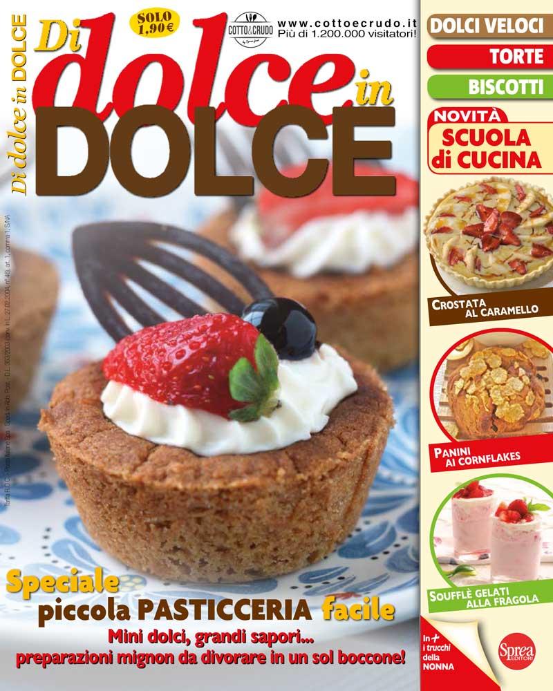 copertina di dolce in dolce