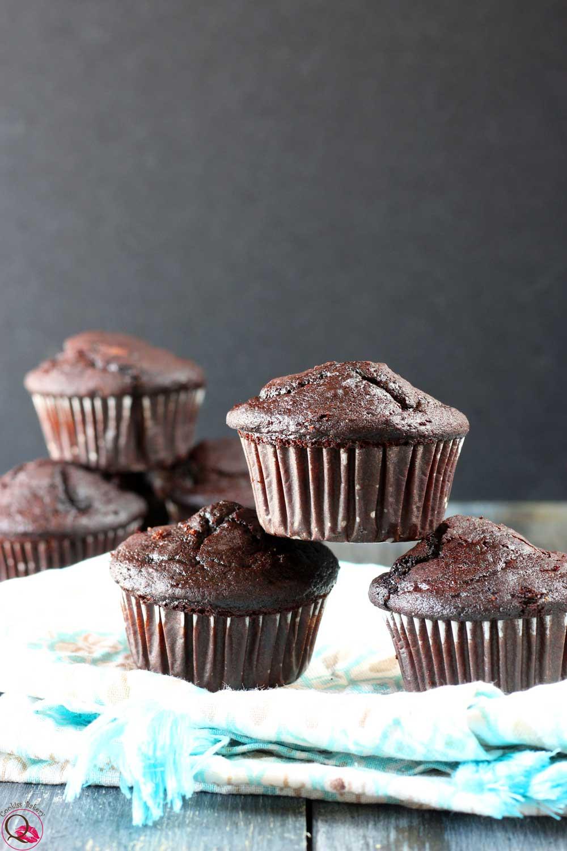 muffins al cioccolato morbidi