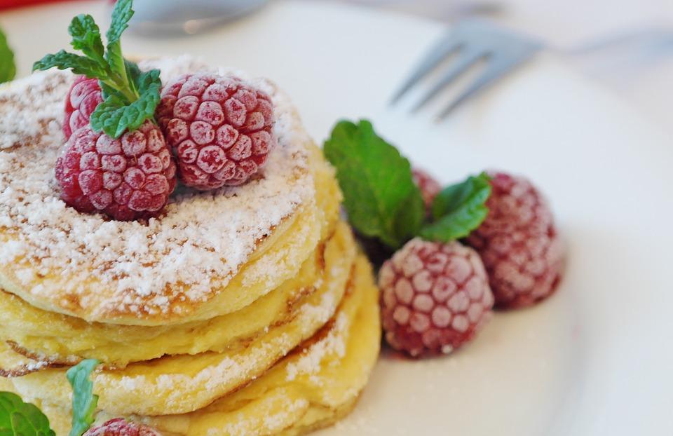 pancakes americani soffici da vicino