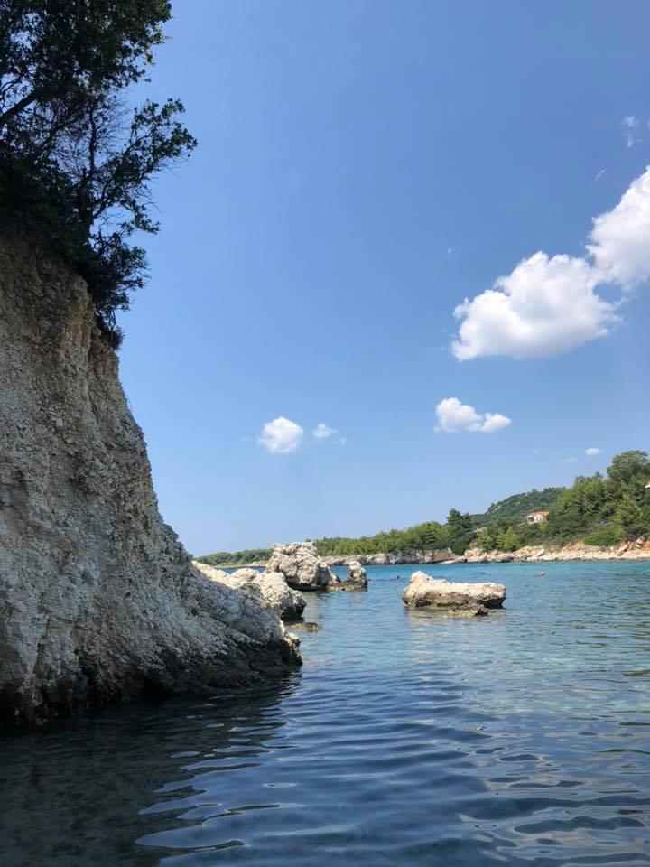 kalamia beach cefalonia mare