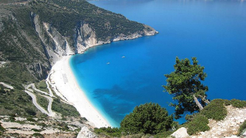 migliori 10 spiagge cefalonia myrtos