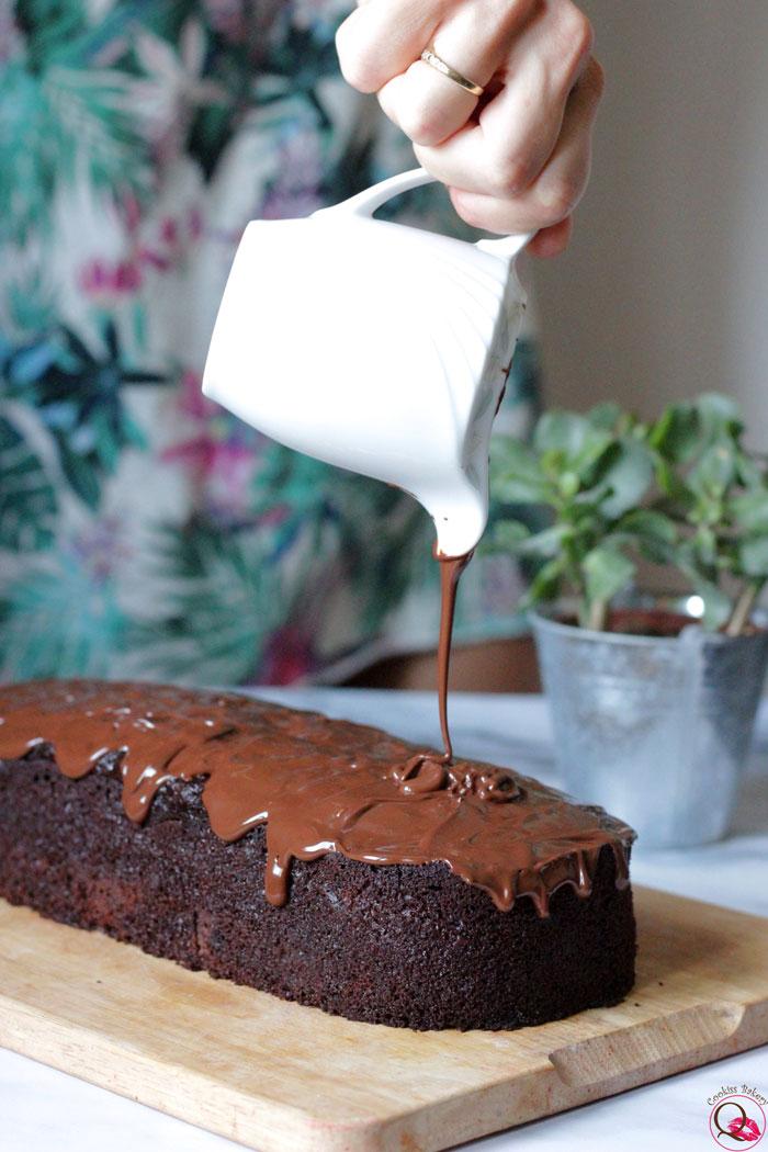plumcake-cioccolato-glassa
