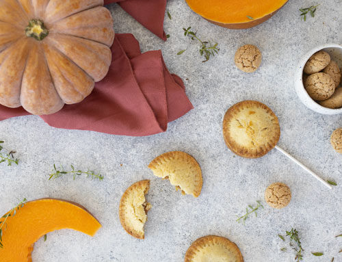 Biscotti torta di zucca: pumpkin pie cookies