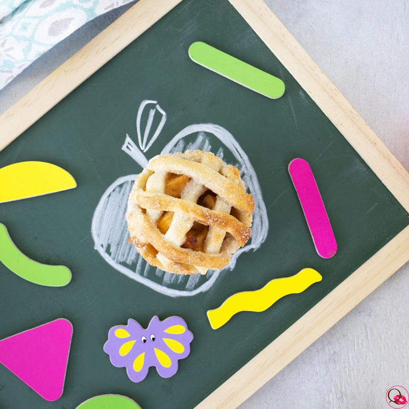 Crostatine-di-mele-con-pasta-frolla-all'olio-singola