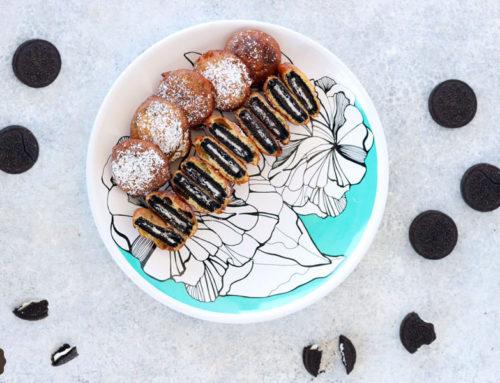 Frittelle Oreo con pastella per pancakes