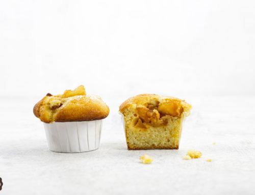 Muffins con cuore di mela