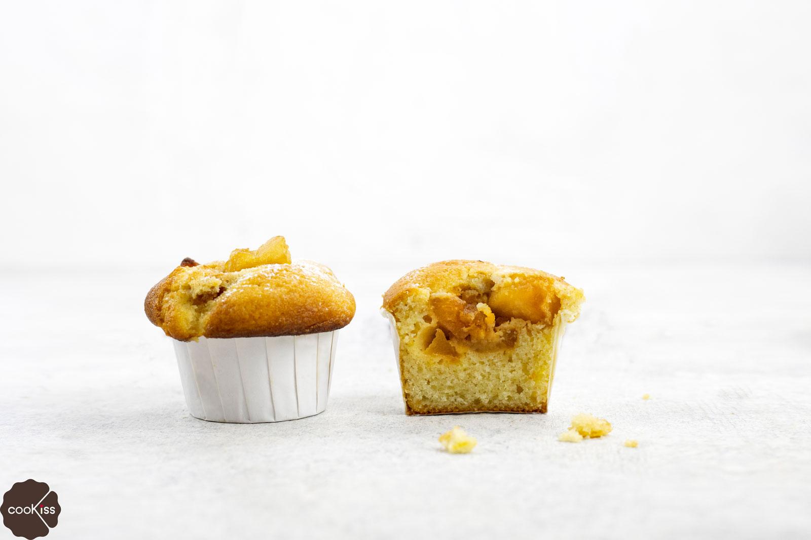 ricetta-muffins-con-cuore-di-mela-sezione