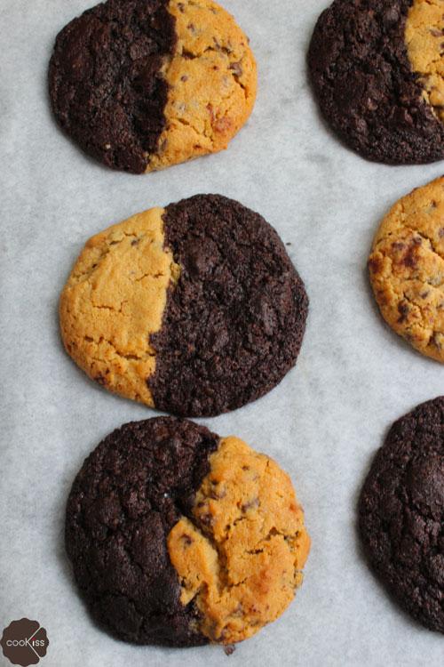 biscotti-al-cioccolato-e-burro-di-arachidi-dallalto
