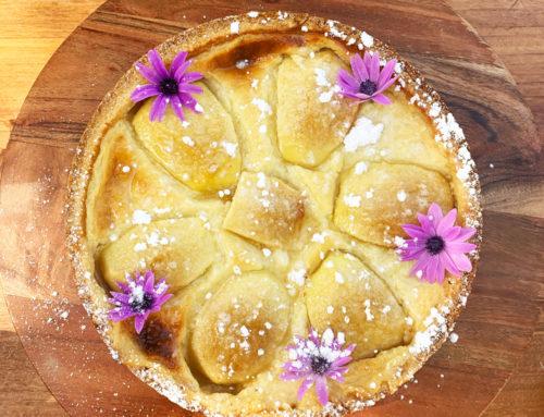 Tenuta Torre Cenaia: Crostata di mele alla crema con crema al Dolce Peccato